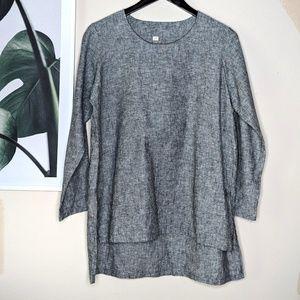 🌴 Gray Boxy Tunic size Medium